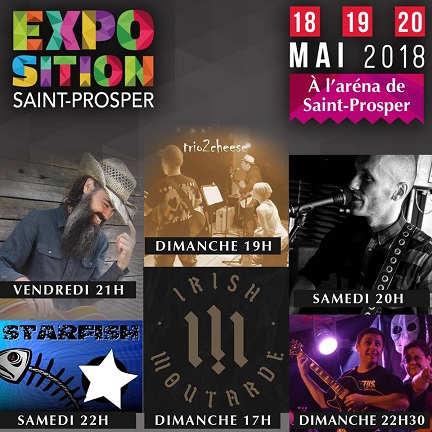 Programme d'activités de l'expo de saint-Prosper, beauce, Québec